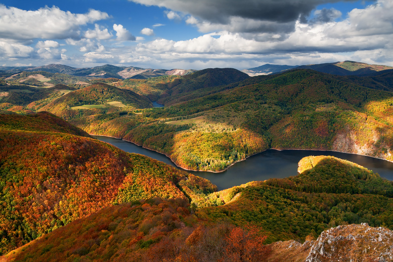 Jeseň pod Sivcom - Čierna hora