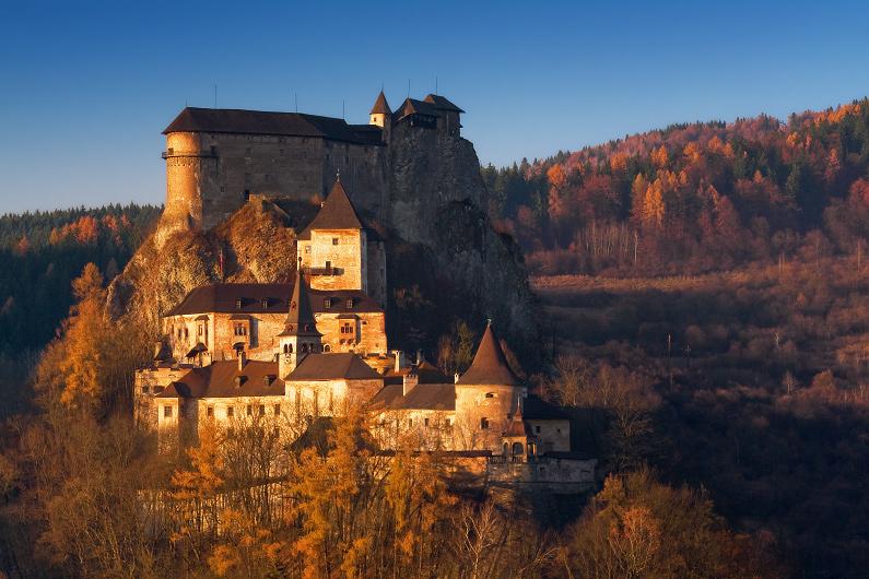 V plameňoch - Oravský hrad